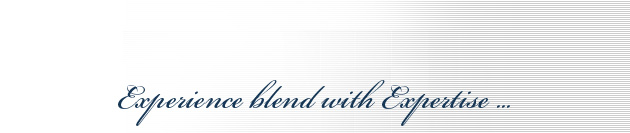 Experience blend with Expertise